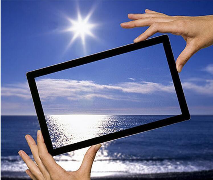 防眩光涂层的屏幕应用