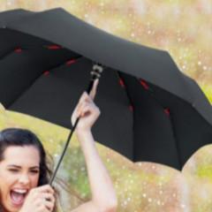 纳米(疏水)涂层应用于雨伞表面