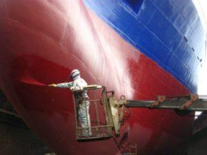 应用于船舶的防腐蚀涂层