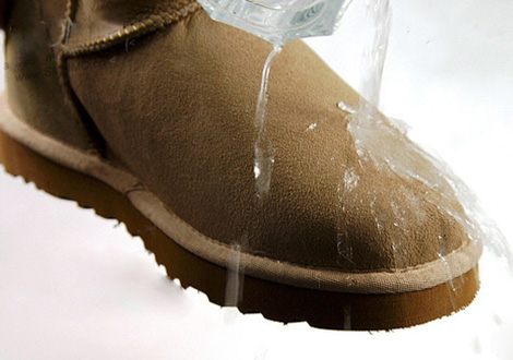 纳米防污涂层应用于鞋面