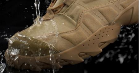 超疏水疏油涂层应用于鞋面